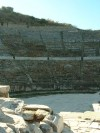 Ephesus--Amphitheater  Trip: Greece, Egypt and Africa Entry: Fethiye to Istanbul Date Taken: 10 Oct/03 Country: Turkey Taken By: Travis Viewed: 968 times Rated: 6.0/10 by 1 person