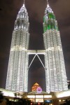 Petronas Towers, Kuala Lumpur  Trip: Brunei to Bangkok Entry: Kuala Lumpur Date Taken: 07 Dec/03 Country: Malaysia Taken By: Mark Viewed: 1635 times Rated: 9.5/10 by 47 people