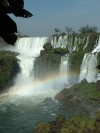 View from Argentine side.  Trip: South America Entry: Igua�u Falls Date Taken: 02 Aug/03 Country: Brazil Taken By: Travis Viewed: 1128 times Rated: 9.4/10 by 9 people