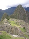 Classic view of Machu Picchu  Trip: B.A. to L.A. Entry: The Inca Trail Date Taken: 19 Dec/02 Country: Peru Taken By: Mark Viewed: 1382 times Rated: 9.4/10 by 7 people